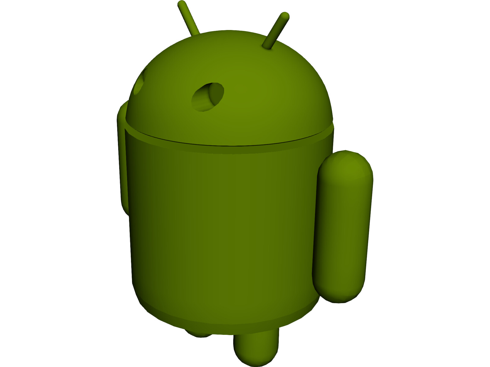 Android Figure Model 3D Model