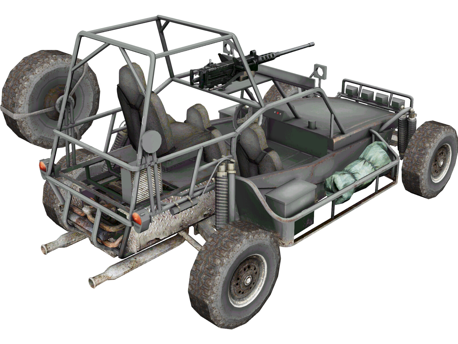 Military Buggy 3d Model 3d Cad Browser