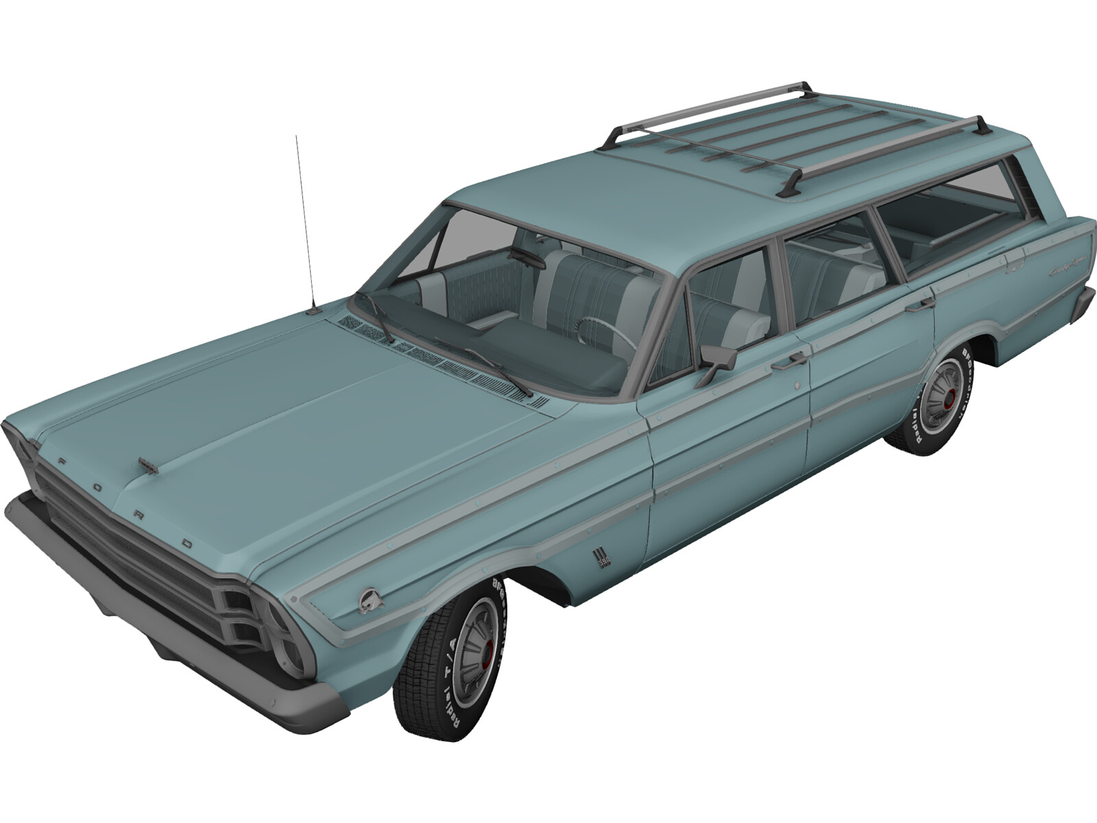 Ford Country Squire (1966)