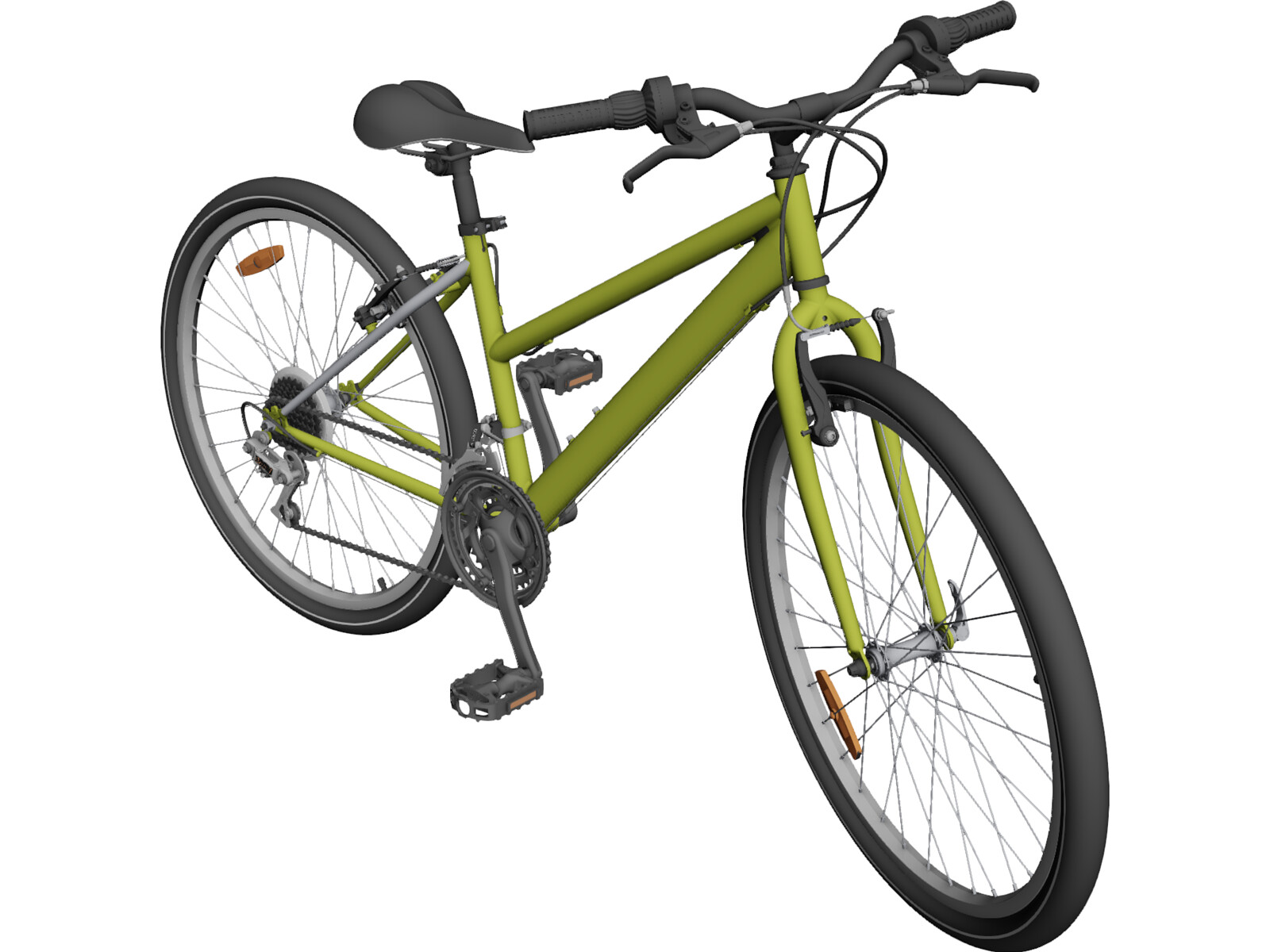 Bicycle 3D CAD Model