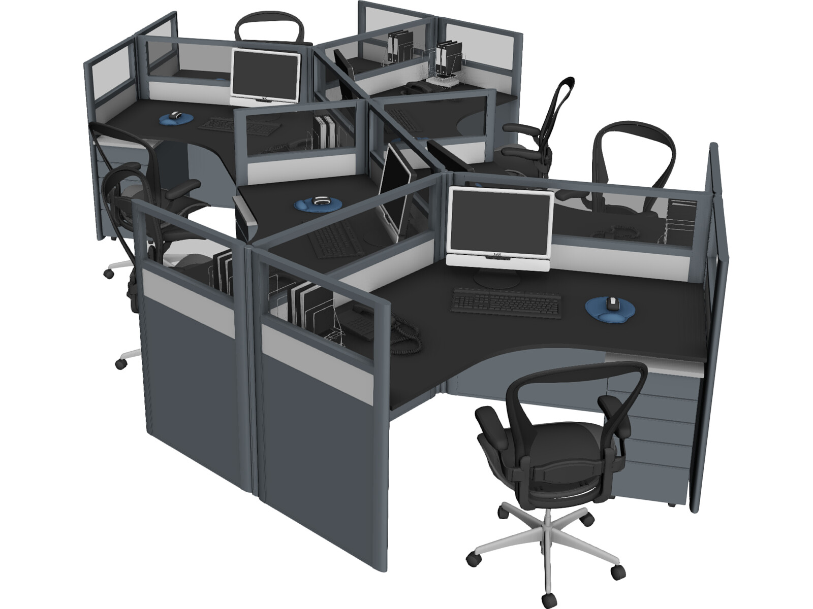 Office Table Workspace