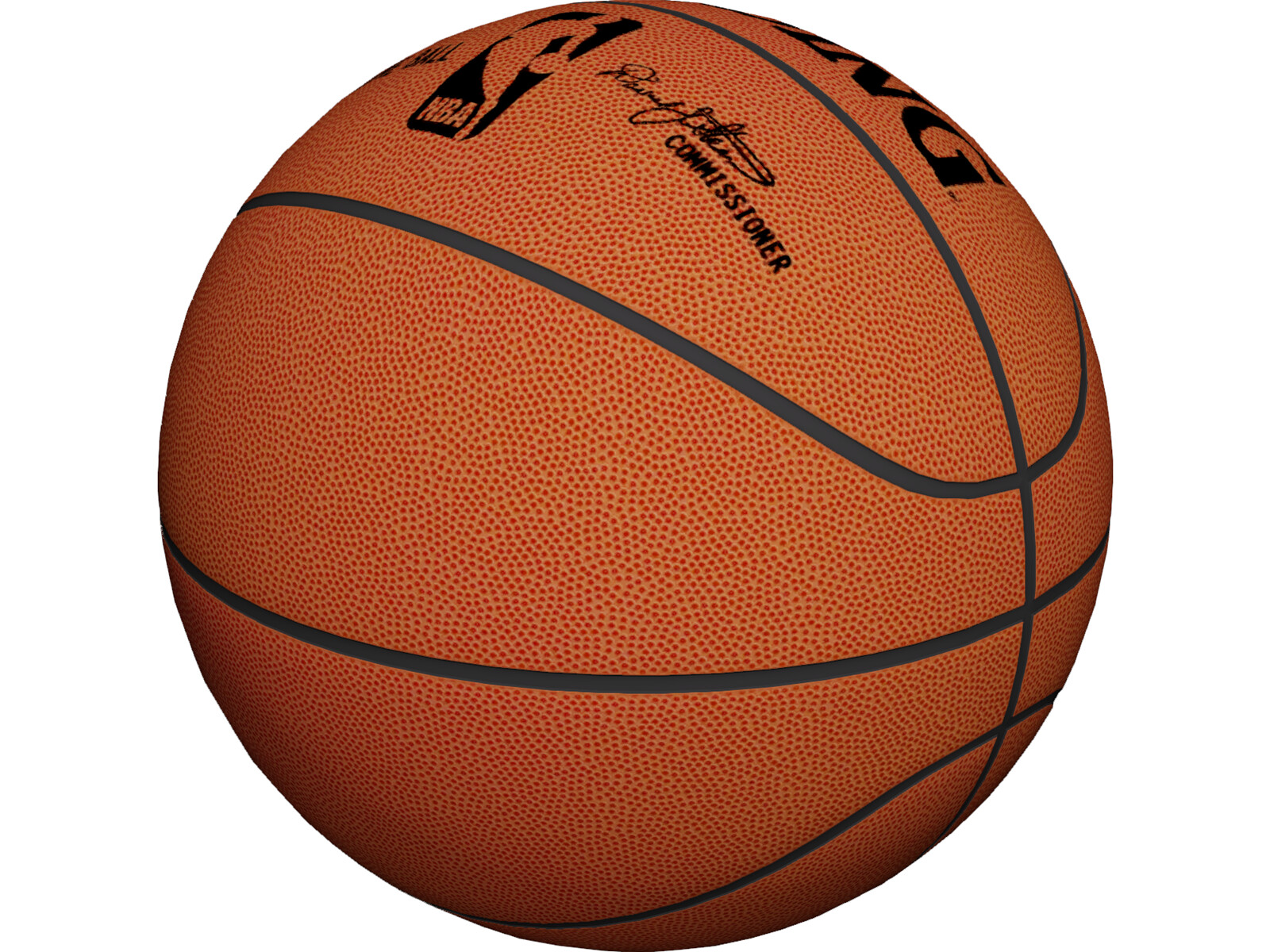 NBA Spalding Basketball Ball