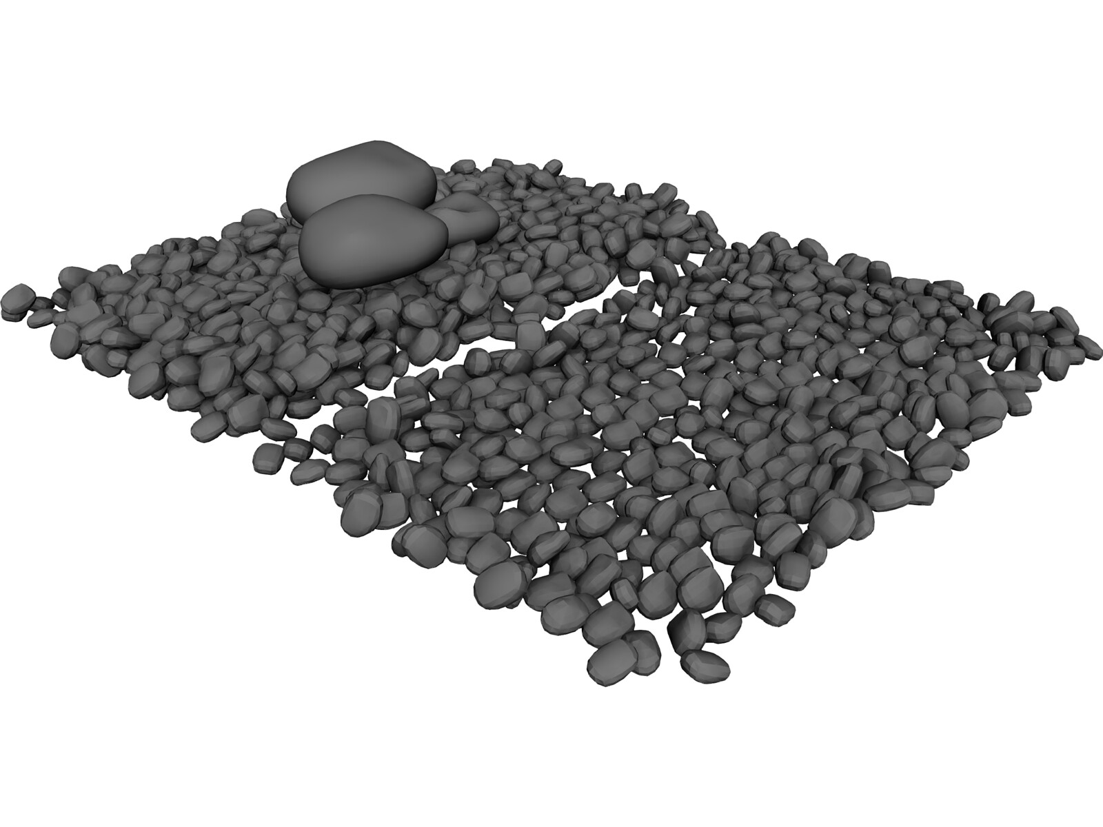 Rocks 3d Model 3d Cad Browser