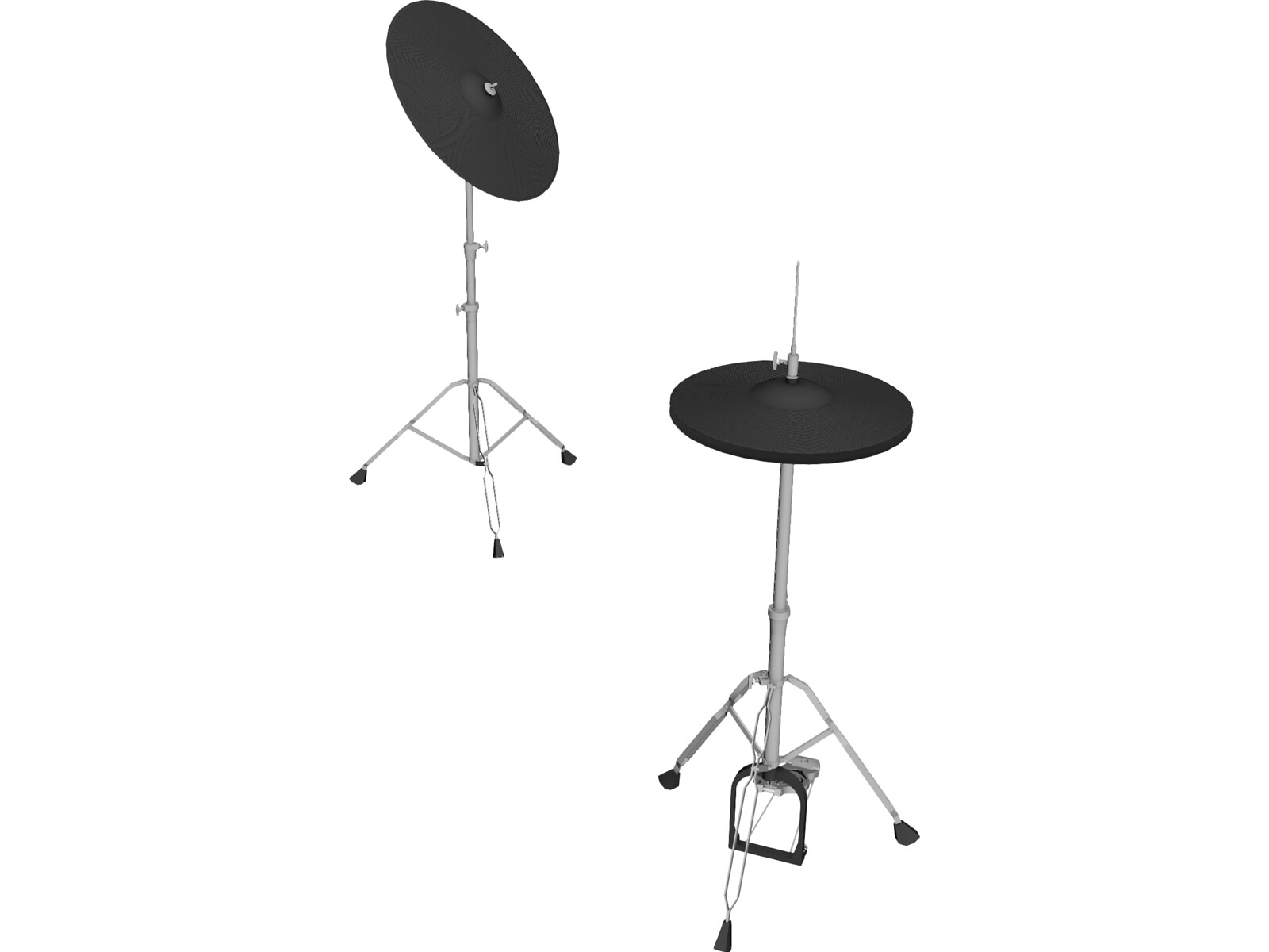 Marshall Portable Hi Hat 3D Model