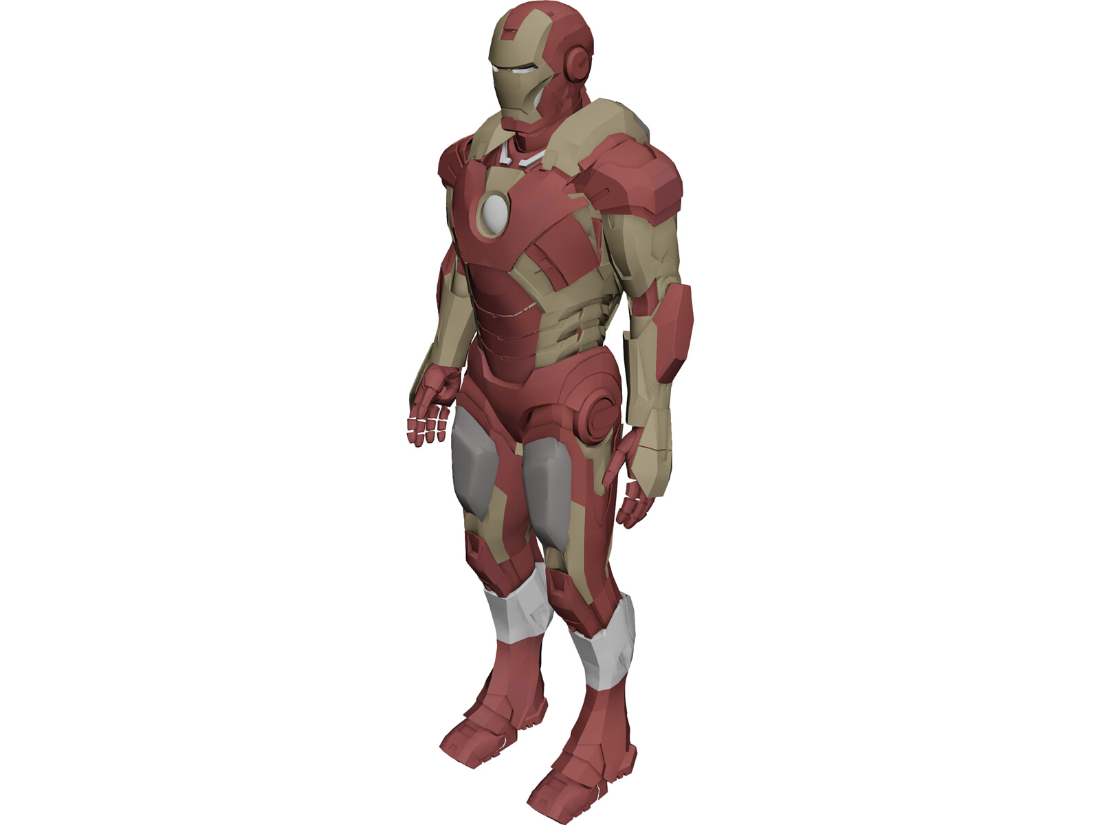 Iron Man Mk VII 3D Model