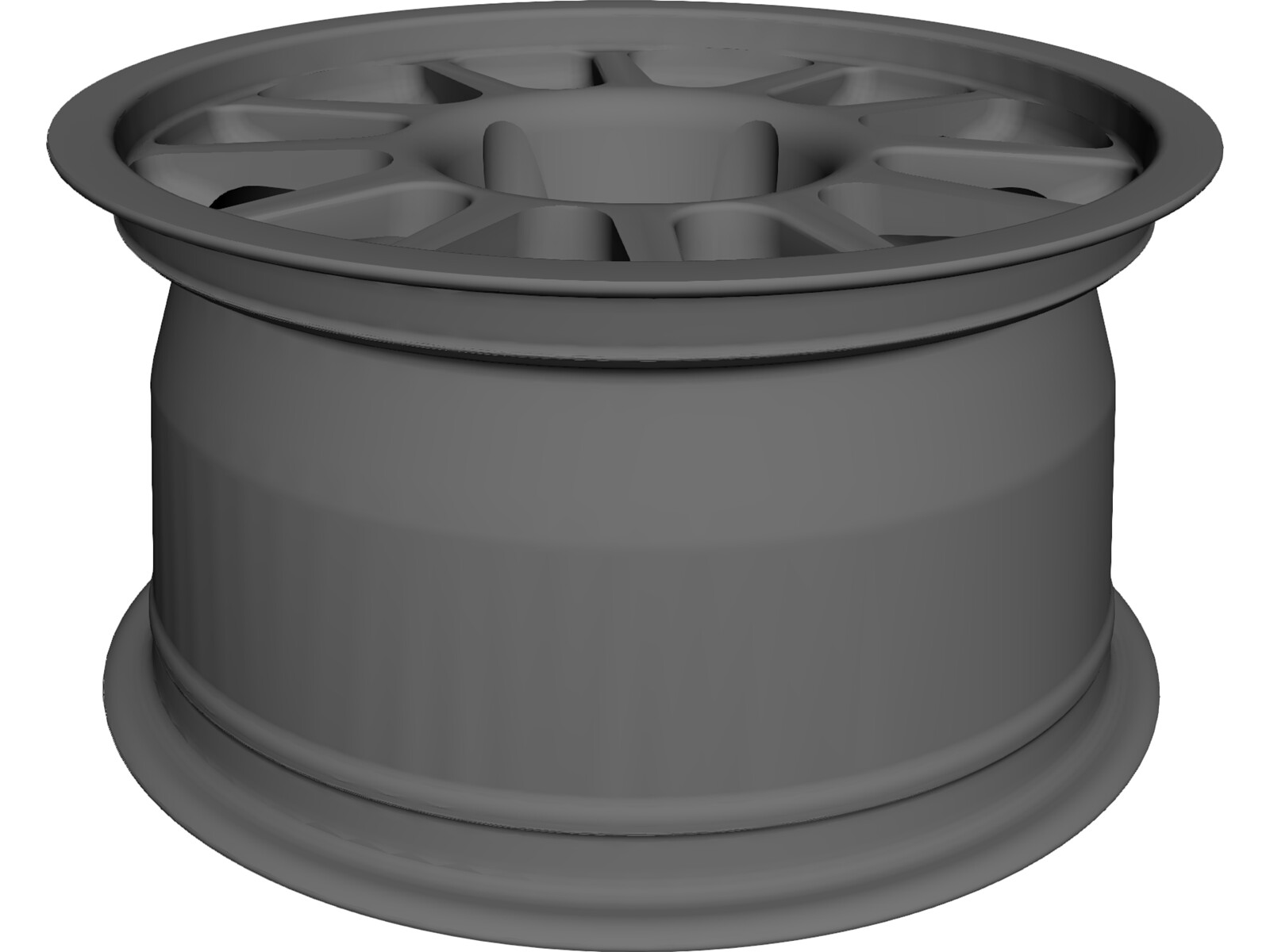 FSAE Wheel OZ 3D CAD Model
