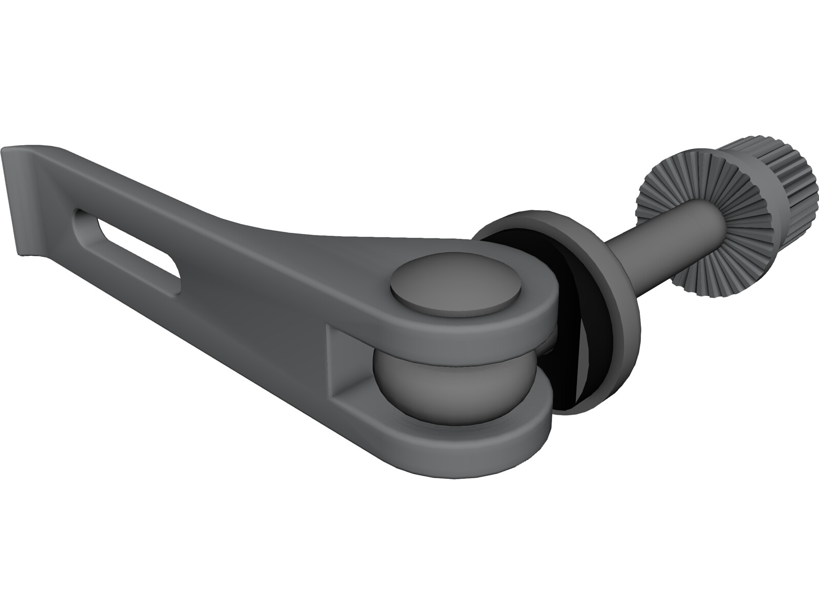 Bicycle Seat Clamp 3D CAD Model