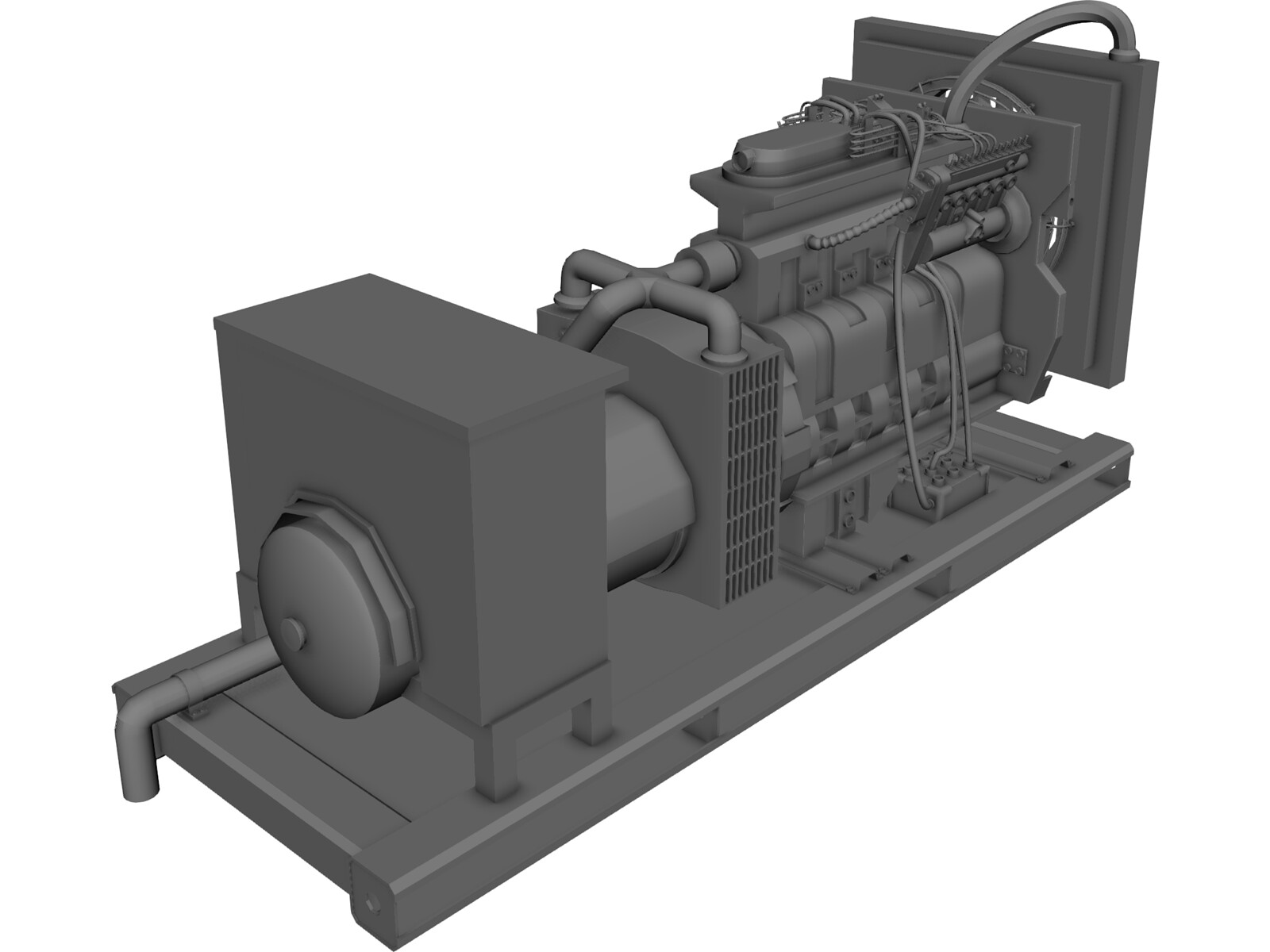 Generator 3d Model 3d Cad Browser