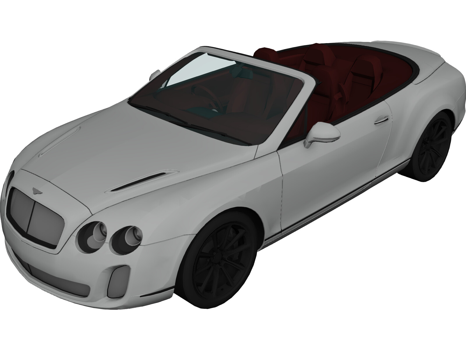 Bentley Continental GT Supersports Convertible (2011)