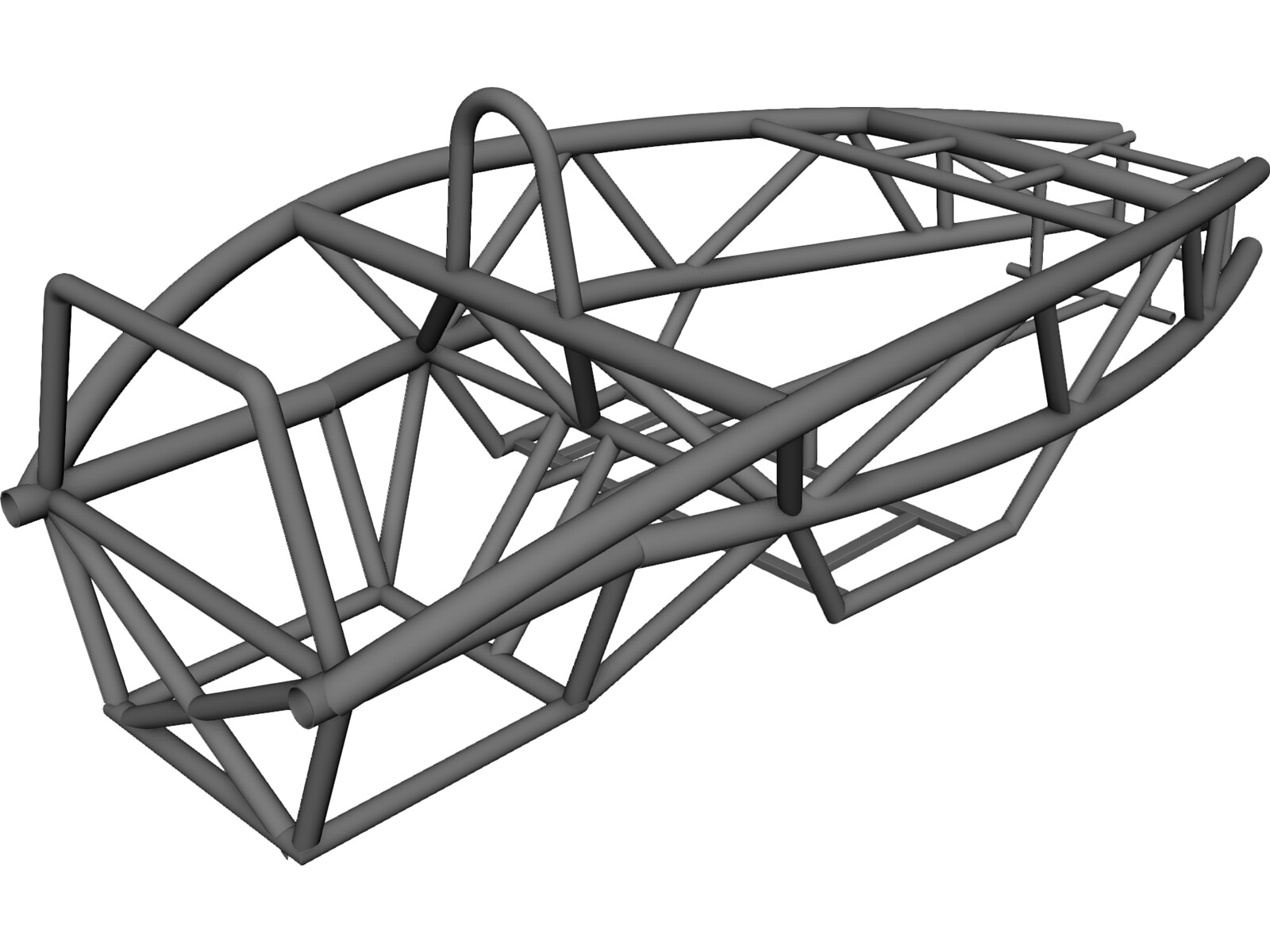 Ariel Atom 2 Chassis 3D Model