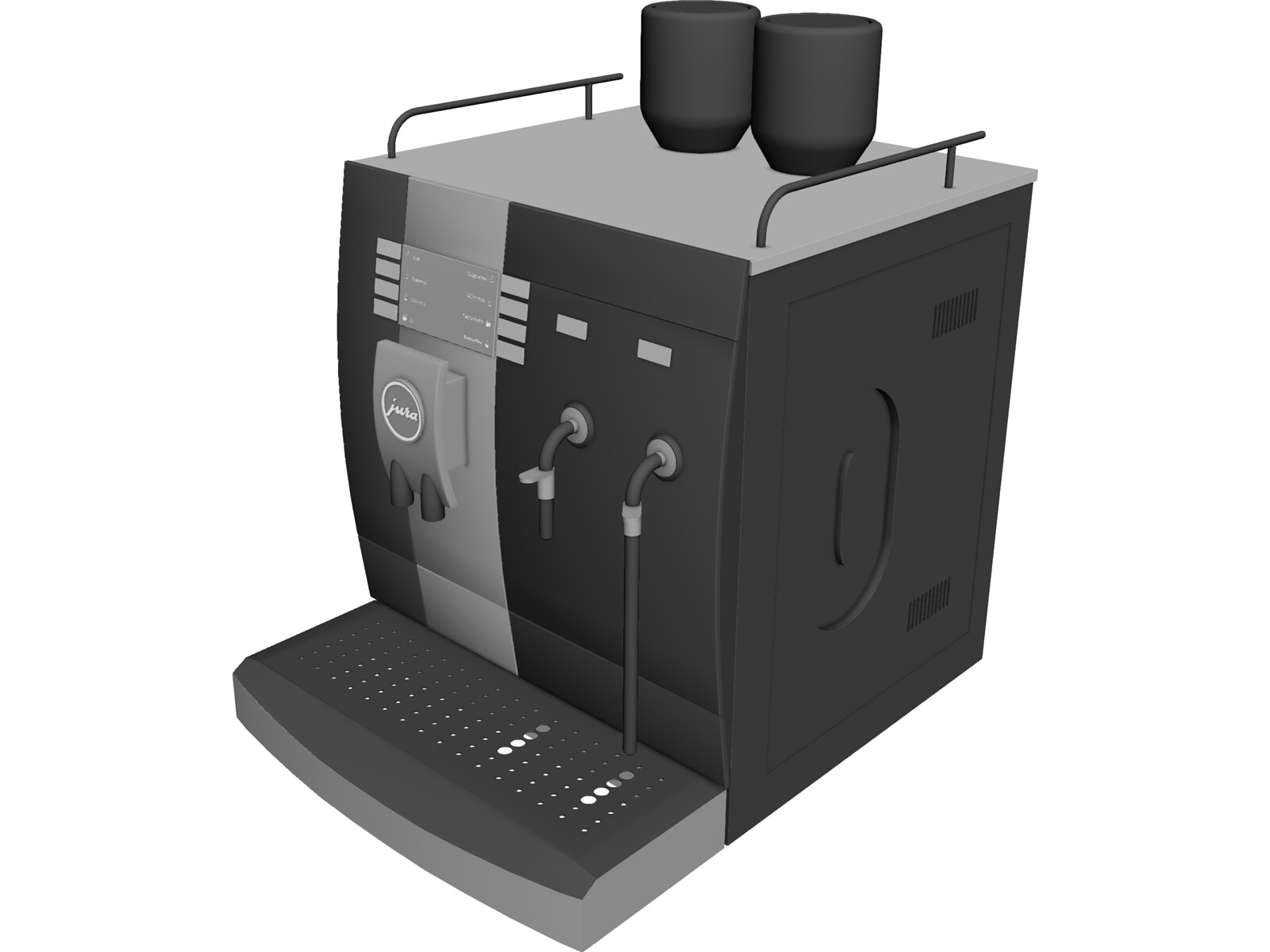 Coffee Maker Jura 3d Model Download 3d Cad Browser
