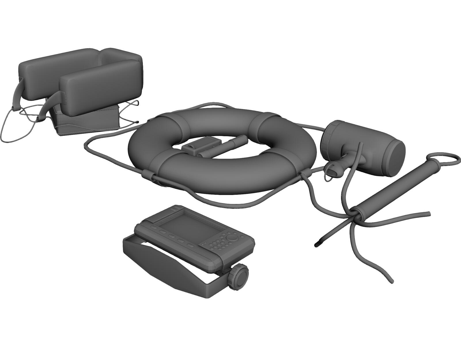 Boating Supply (Safety Equipment) 3D Model