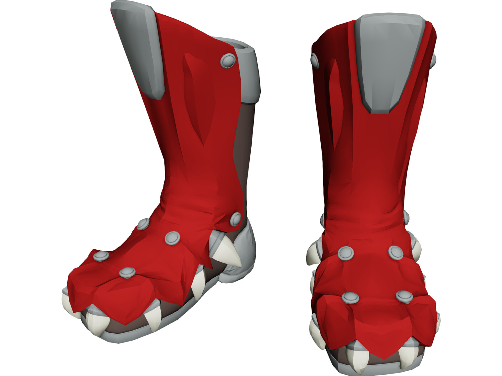 Red Dragon Boots