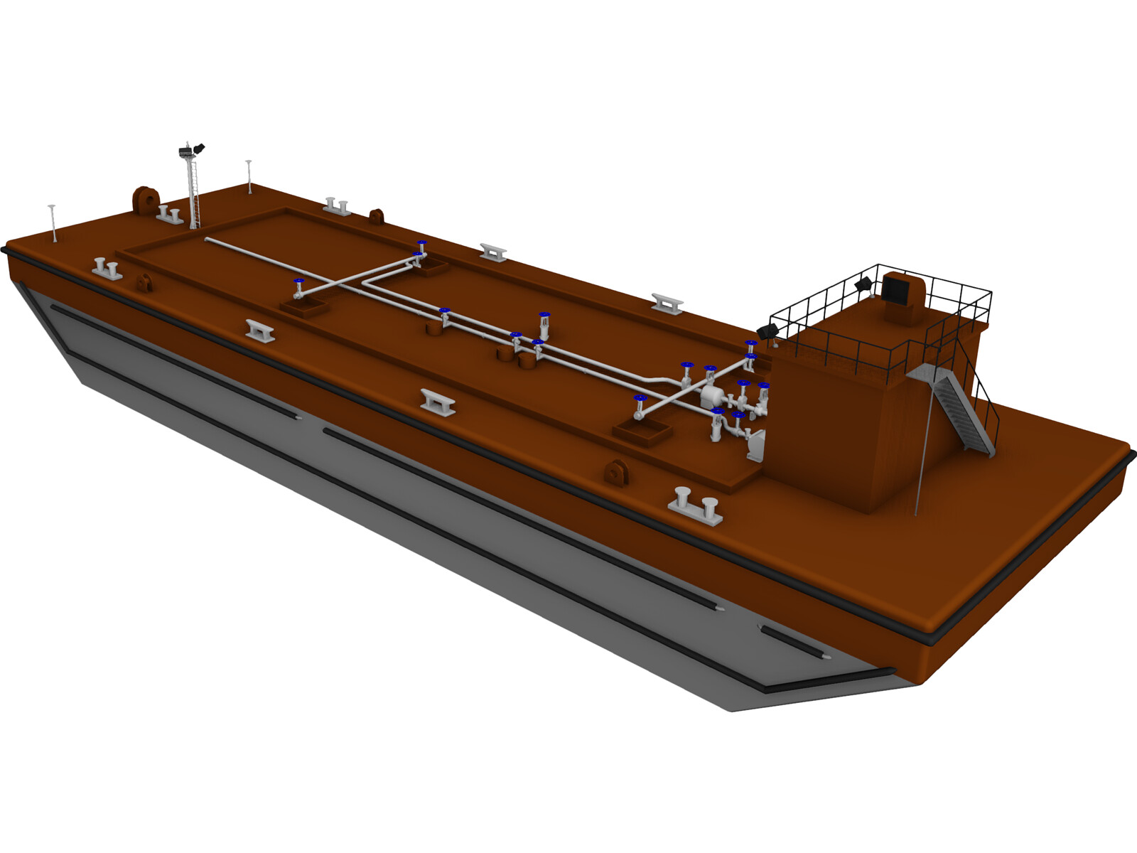 Oil Tanker Barge
