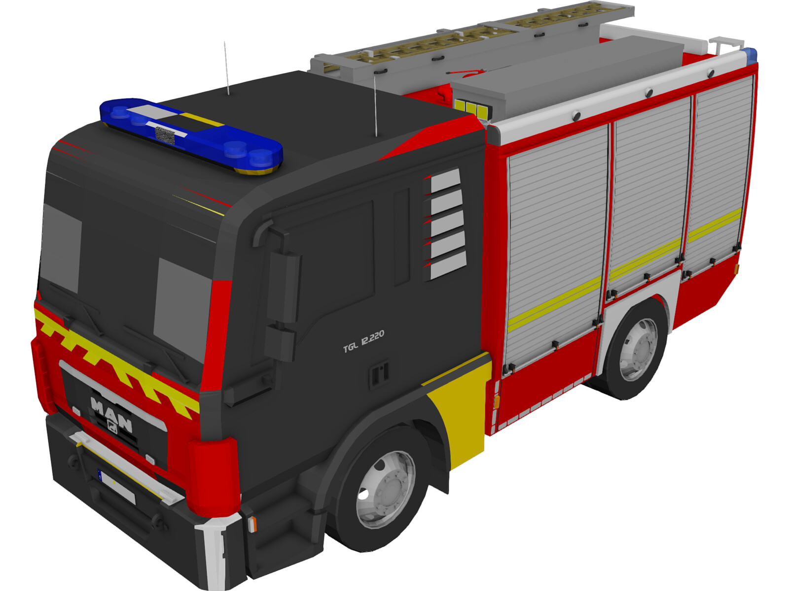 MAN TGL TLF4000 Germany Firetruck