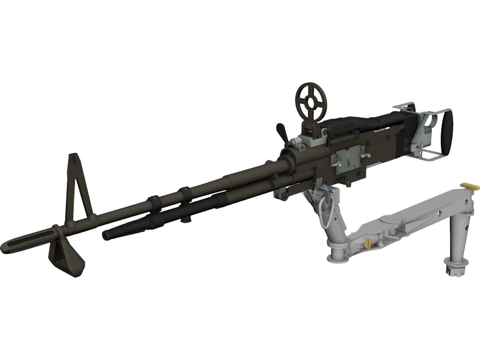 M60 7.62mm Machine Gun and Arm