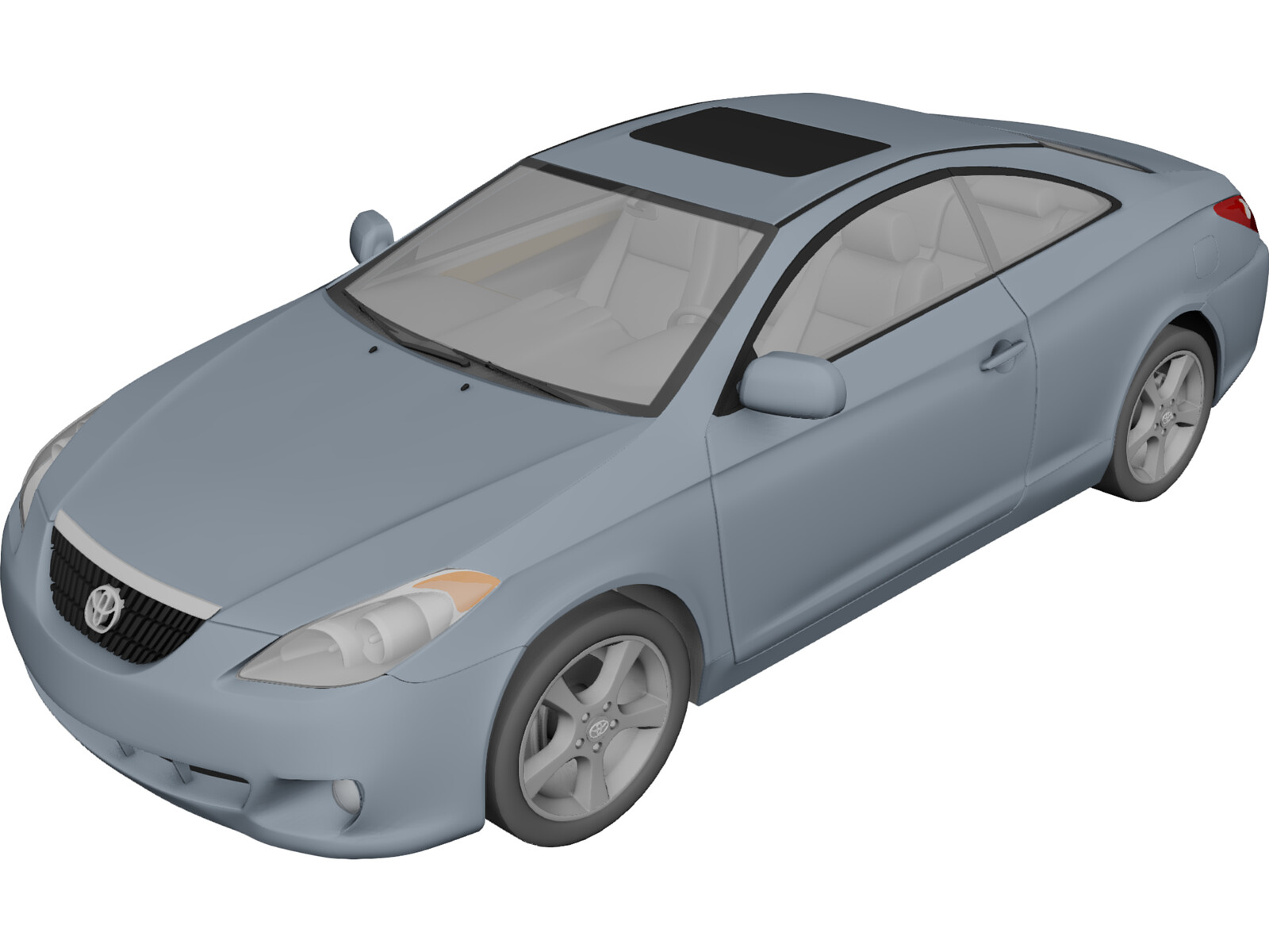 Toyota Camry Solara Coupe (2006) 3D Model