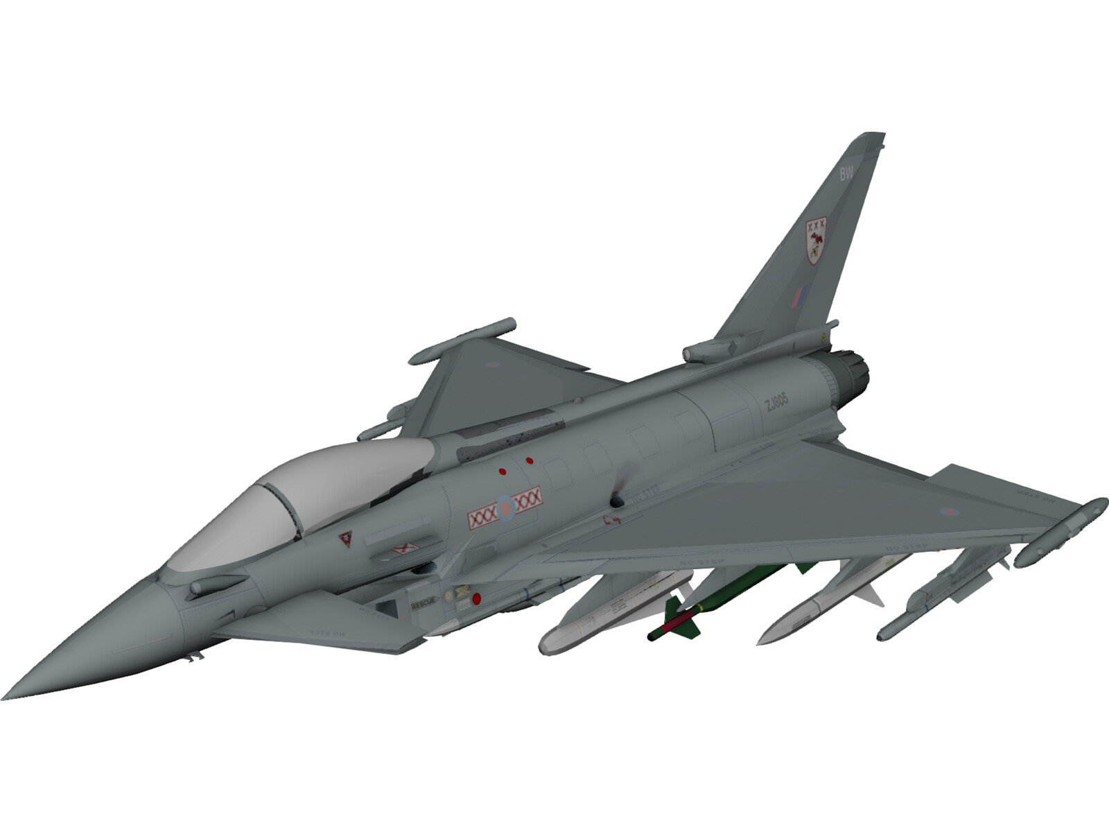eurofighter typhoon 3d model 3d cad browser. Black Bedroom Furniture Sets. Home Design Ideas