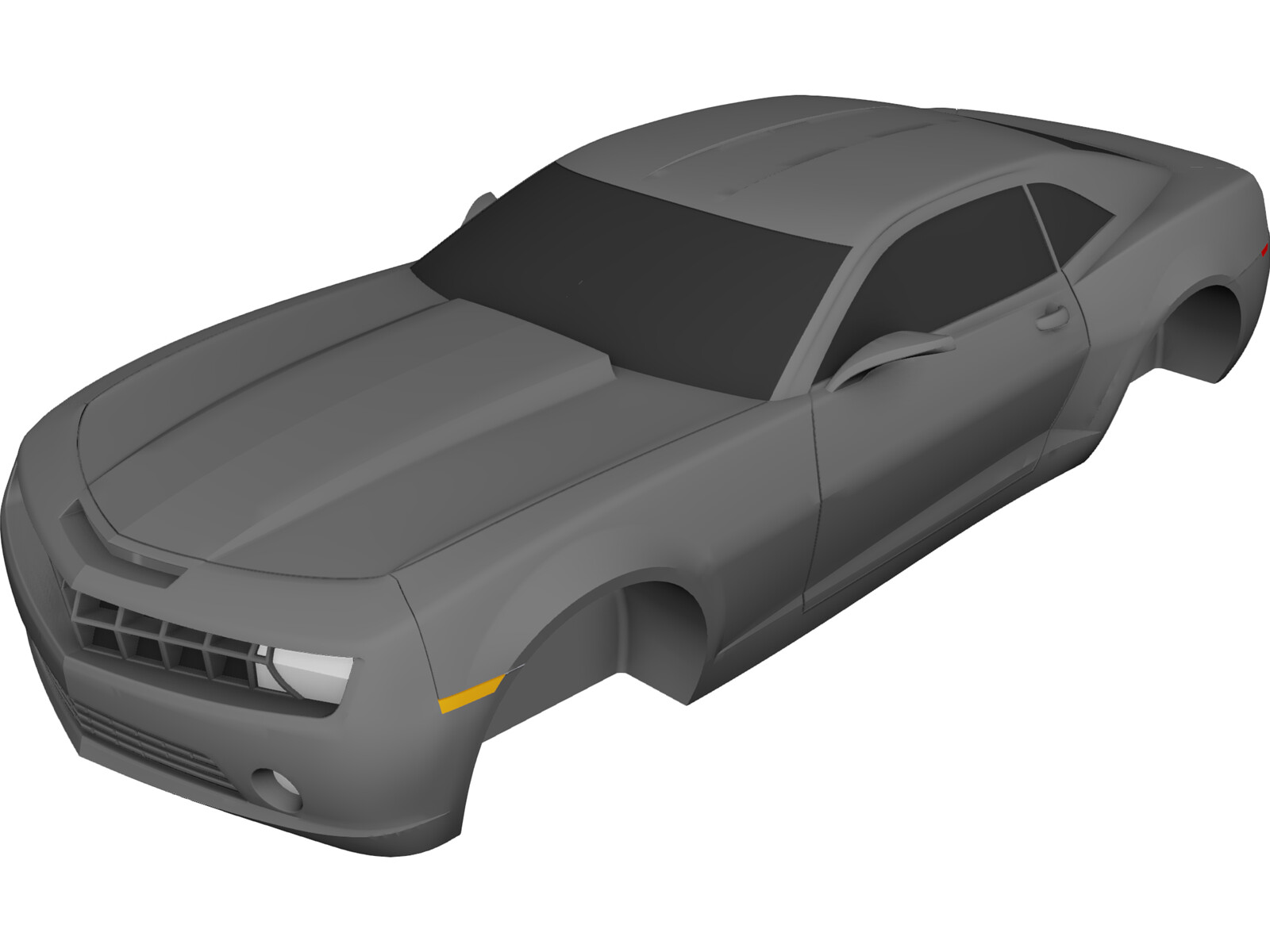 Used Cars Macomb Il Chevrolet Camaro Body (2010) 3D CAD Model Download - 3D CAD Browser