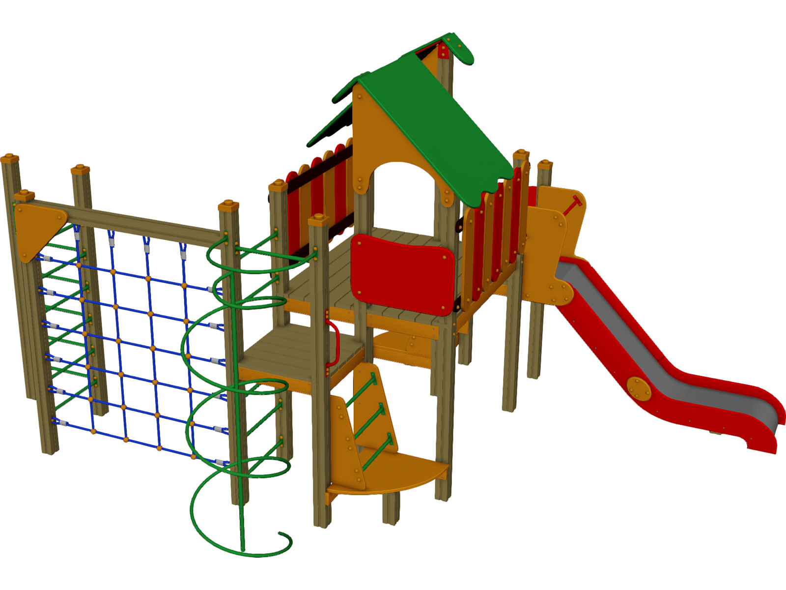 Playground Equipment 3d Model Download 3d Cad Browser