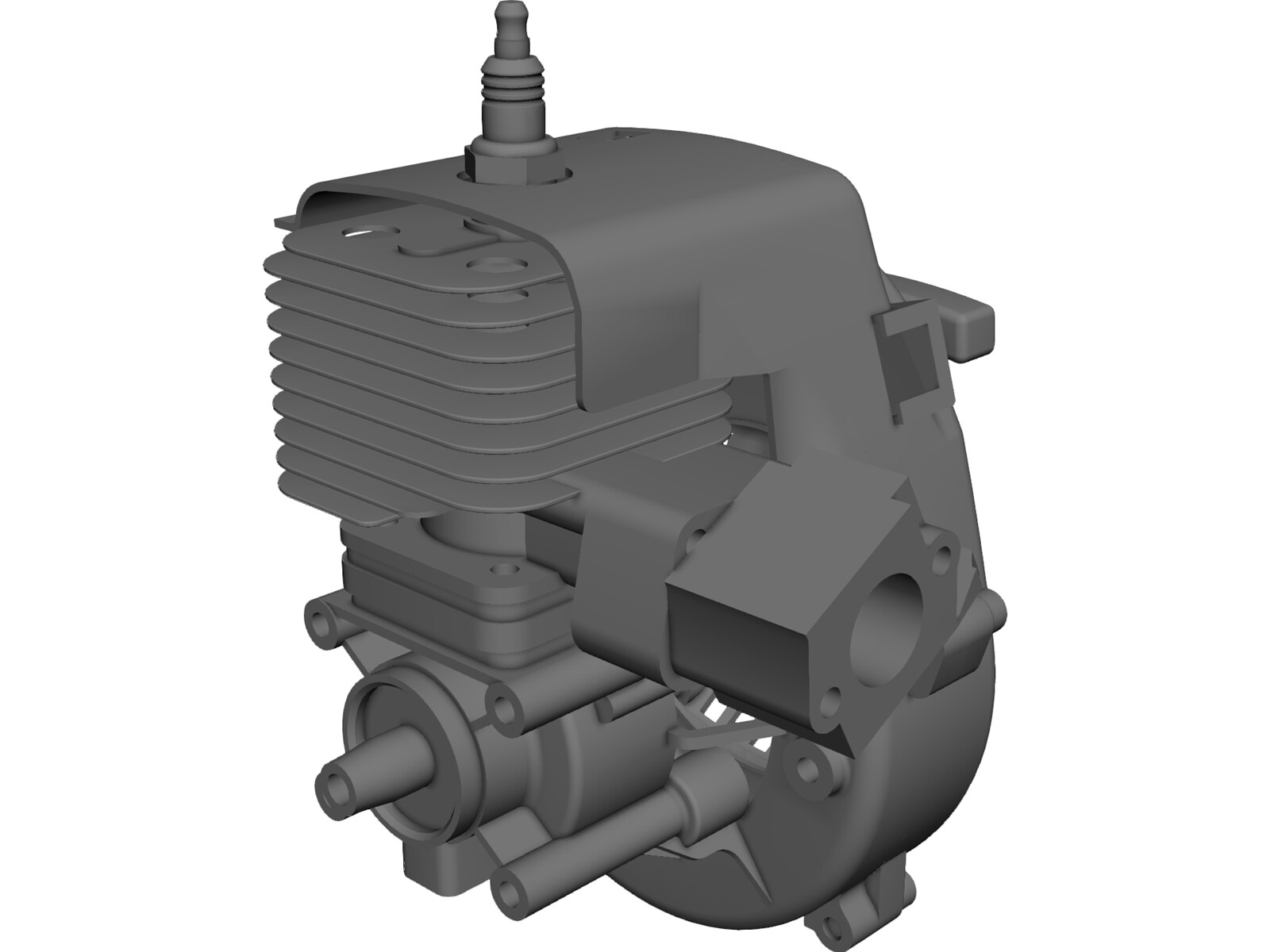 Zenoah G270 3D CAD Model
