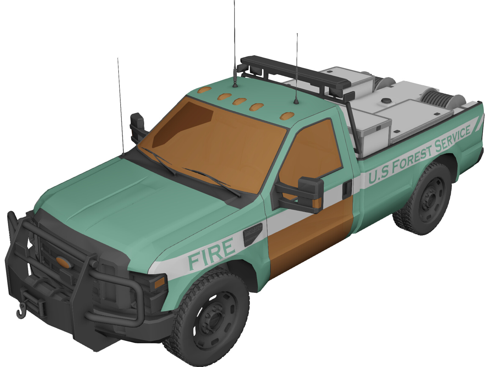 Ford F-150 US Forest Service