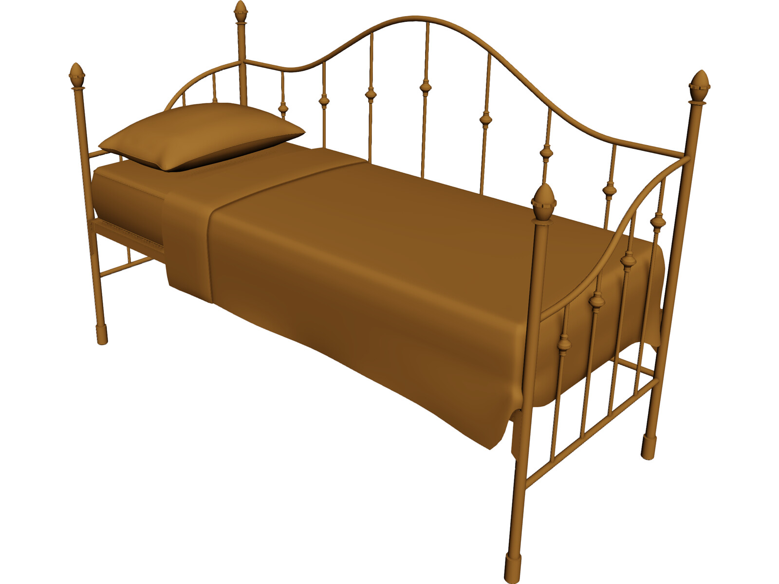 Bed Iron