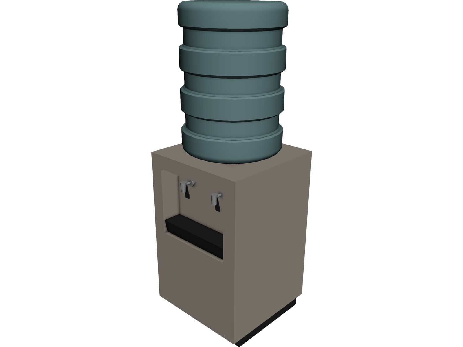 Drinking Fountain 3D Model