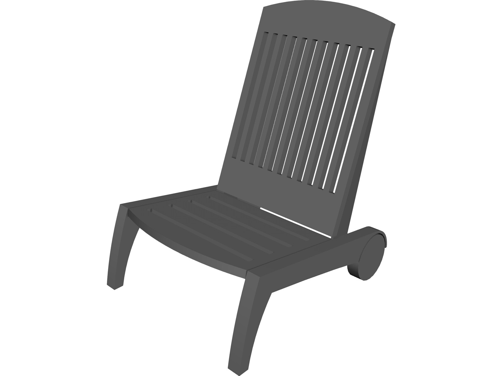 Swimming Pool Chair 3D Model