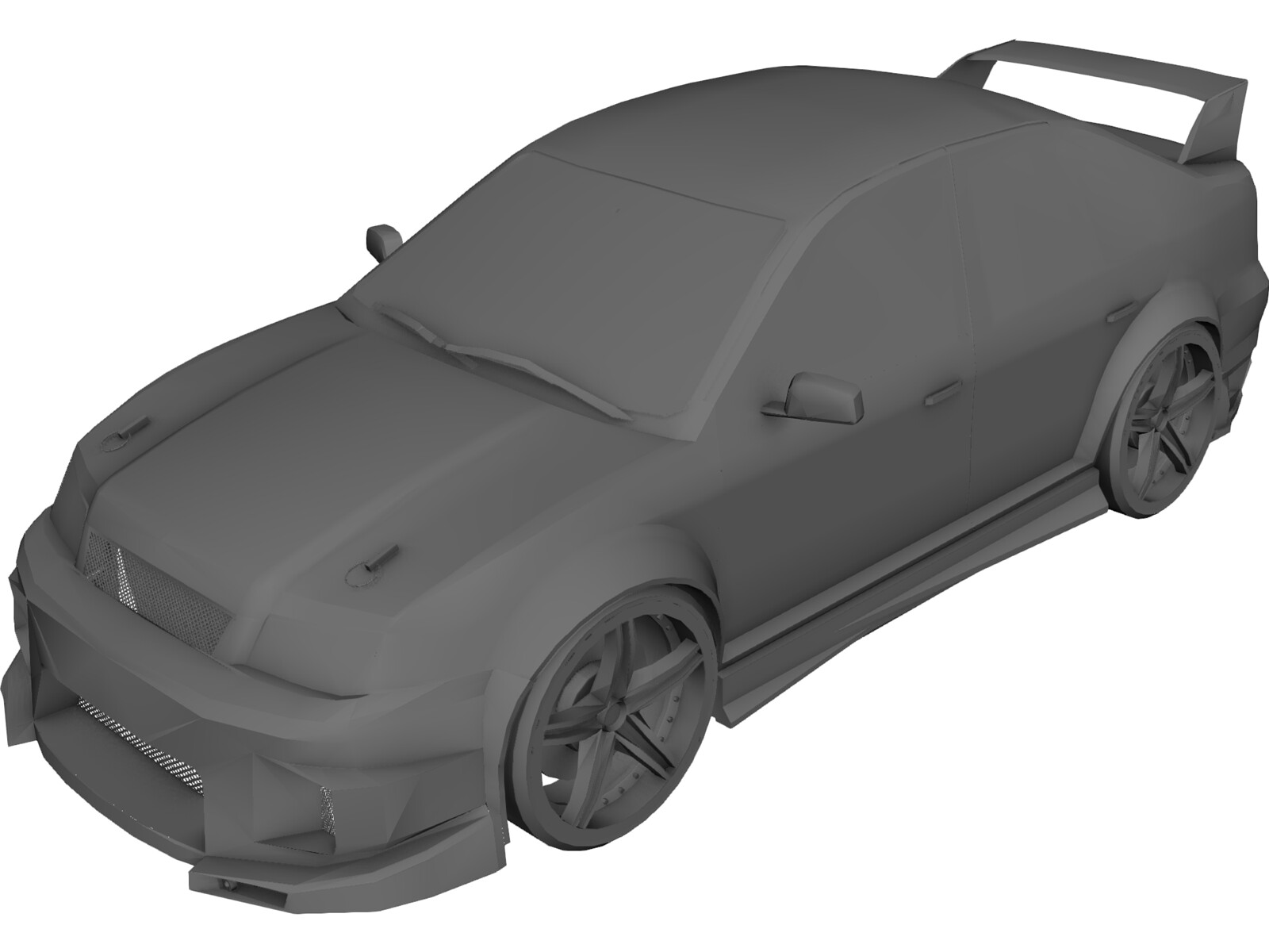 Volkswagen Bora RS [Tuned] 3D Model