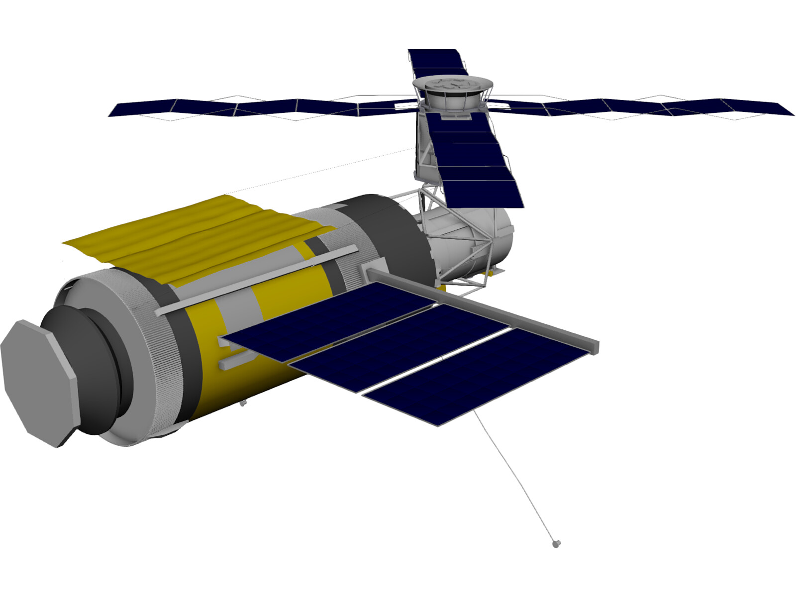 Skylab Space Station 3D Model (page 2) - Pics about space