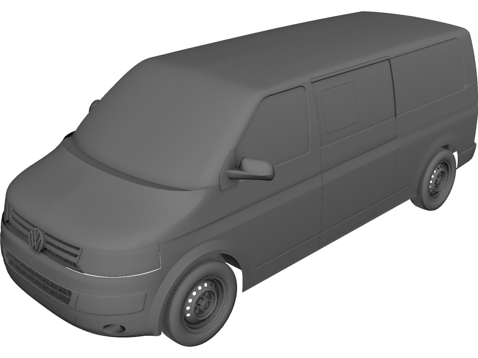 Volkswagen Transporter T5 3D Model