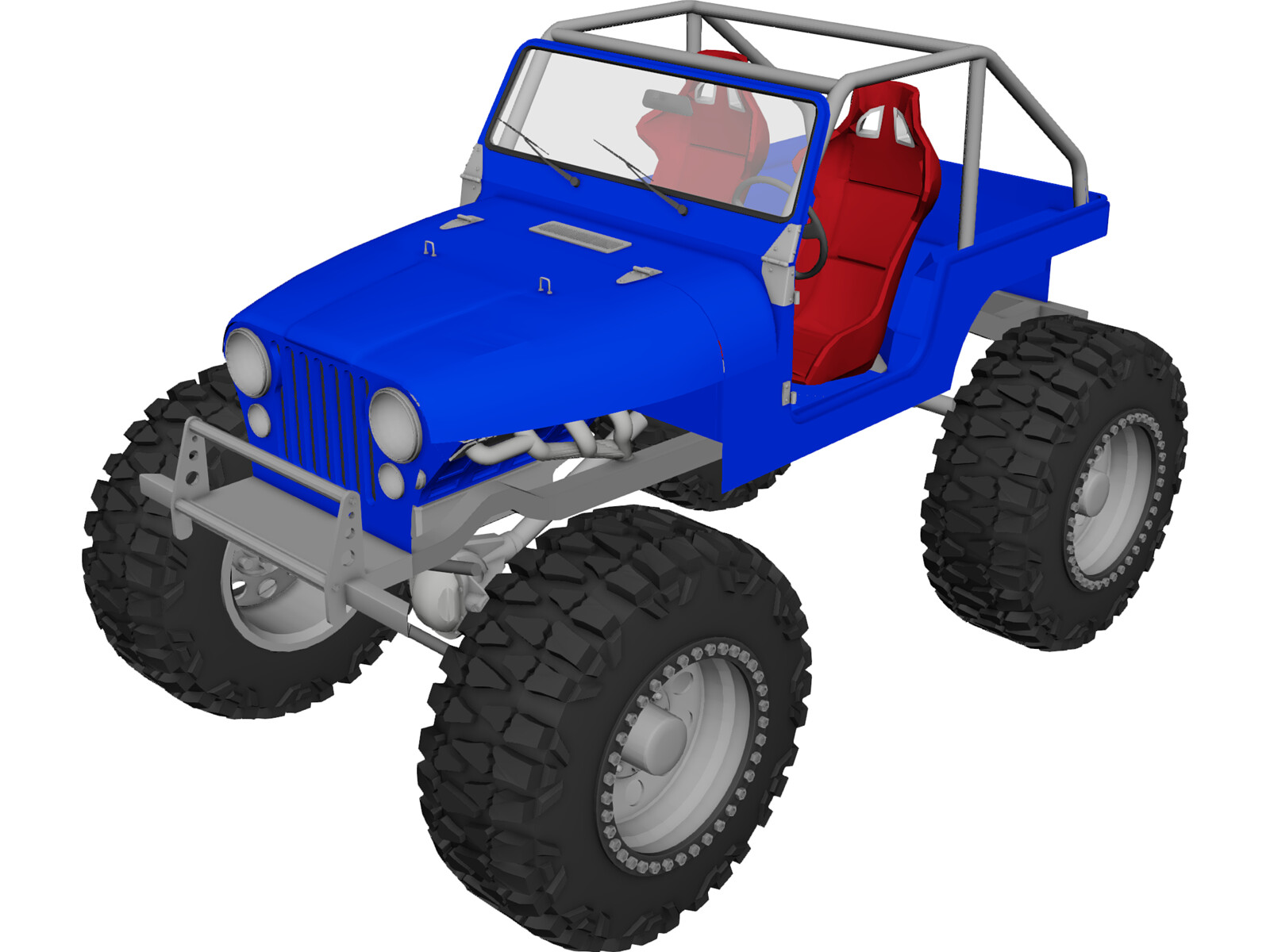 Jeep CJ5 Rock Crawler (1975)