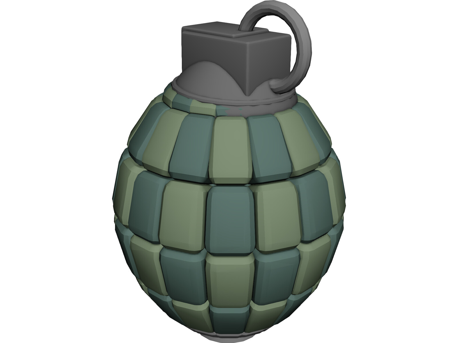 80 Articulated Segments Hand Grenade
