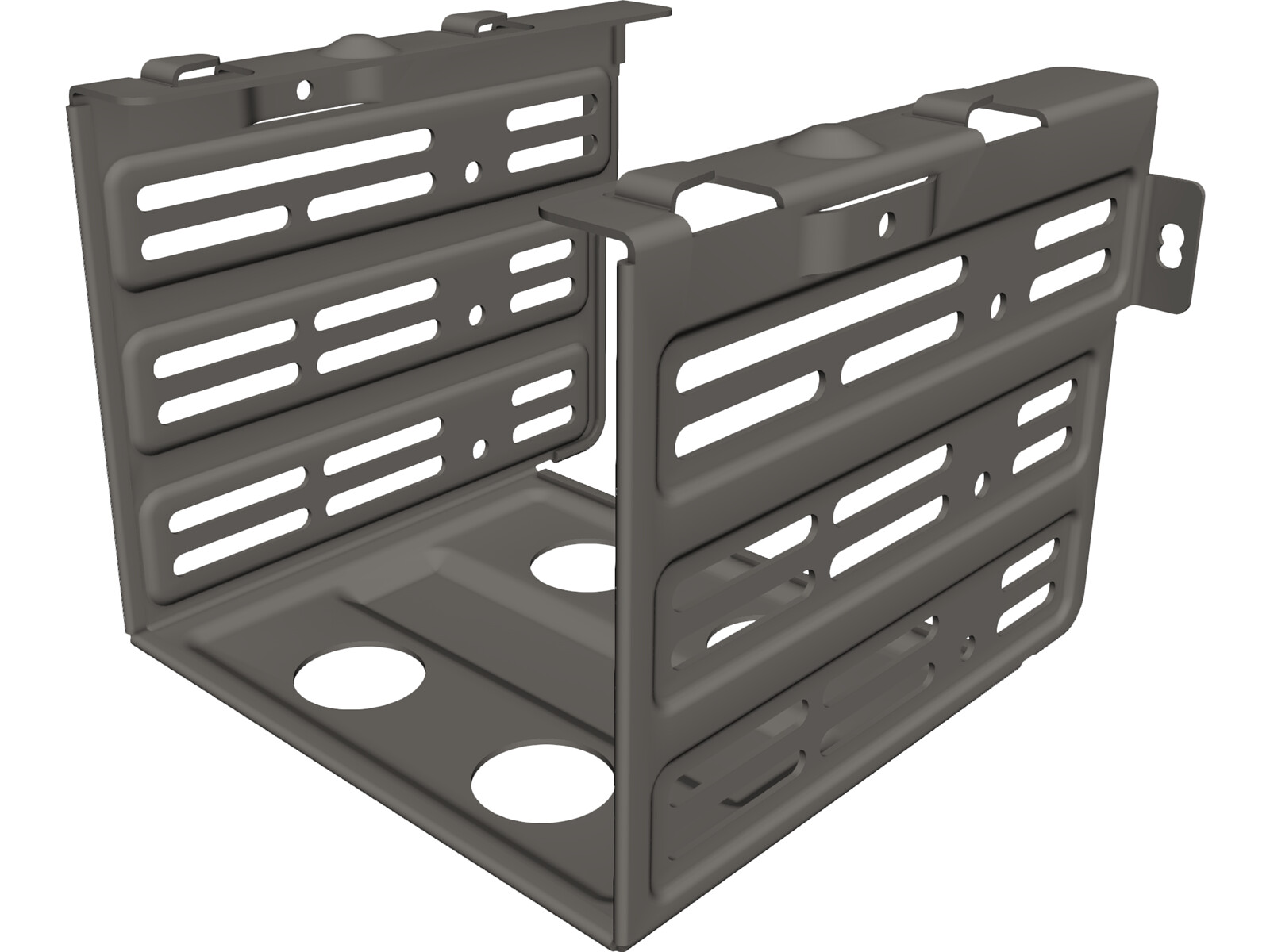HDD Holder 3D CAD Model