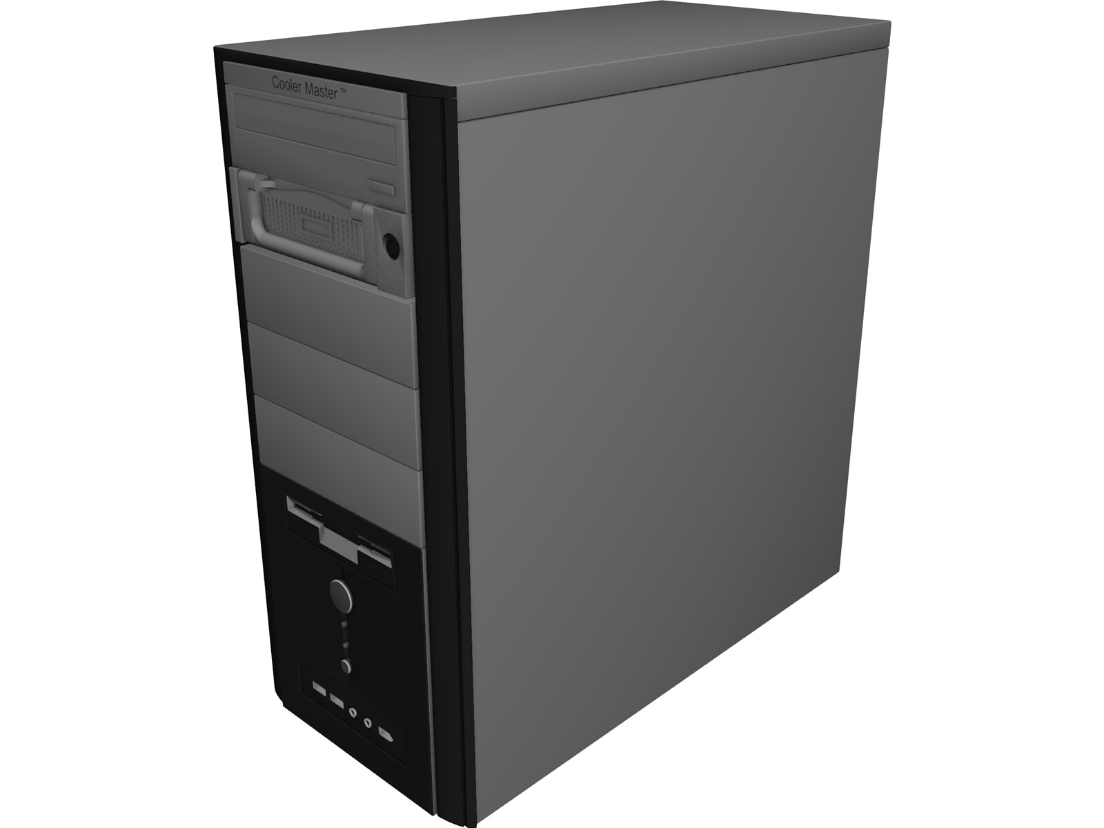 Coolermaster PC 3D Model