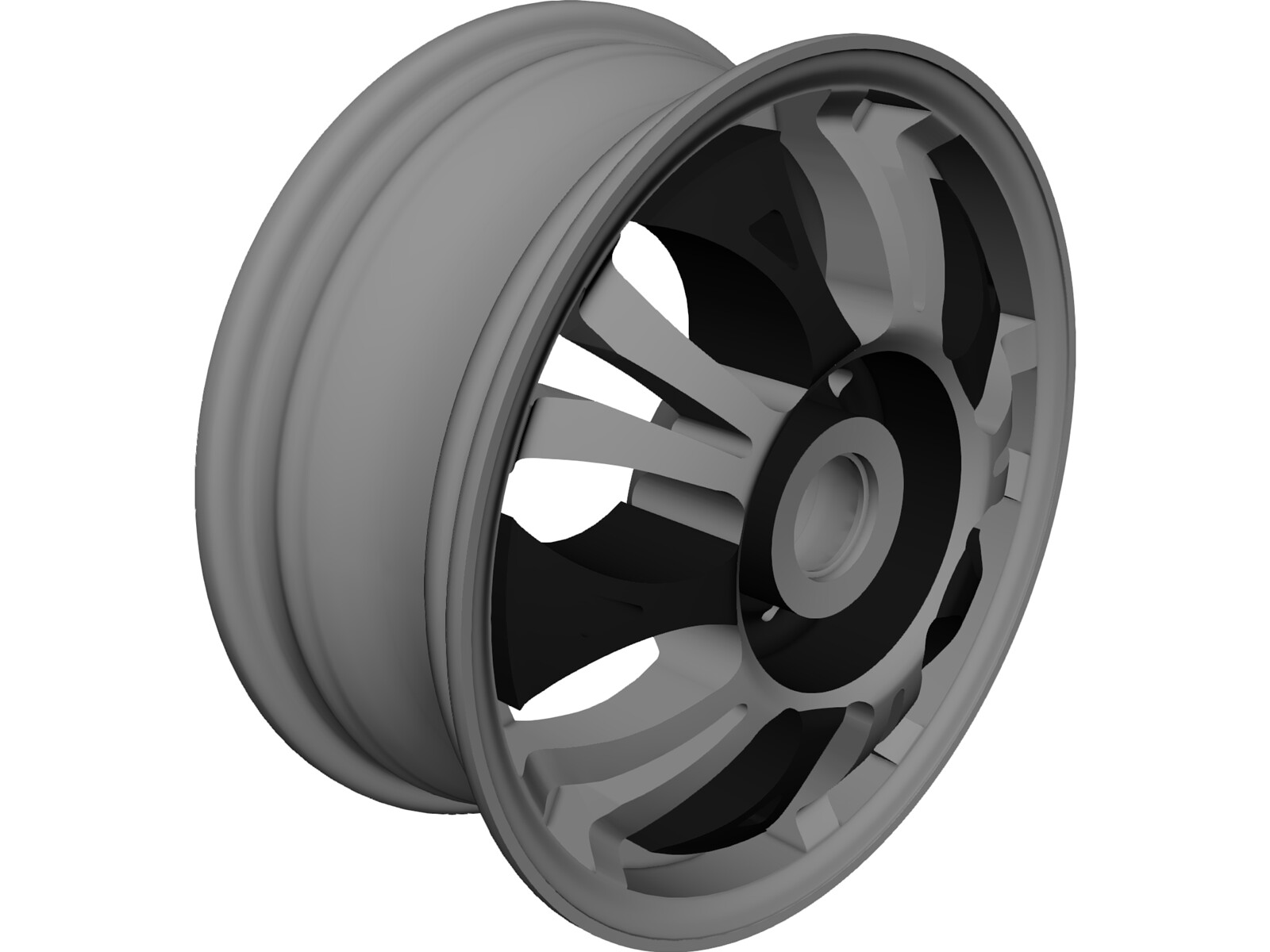 Ferraro Wheel F56 3D CAD Model