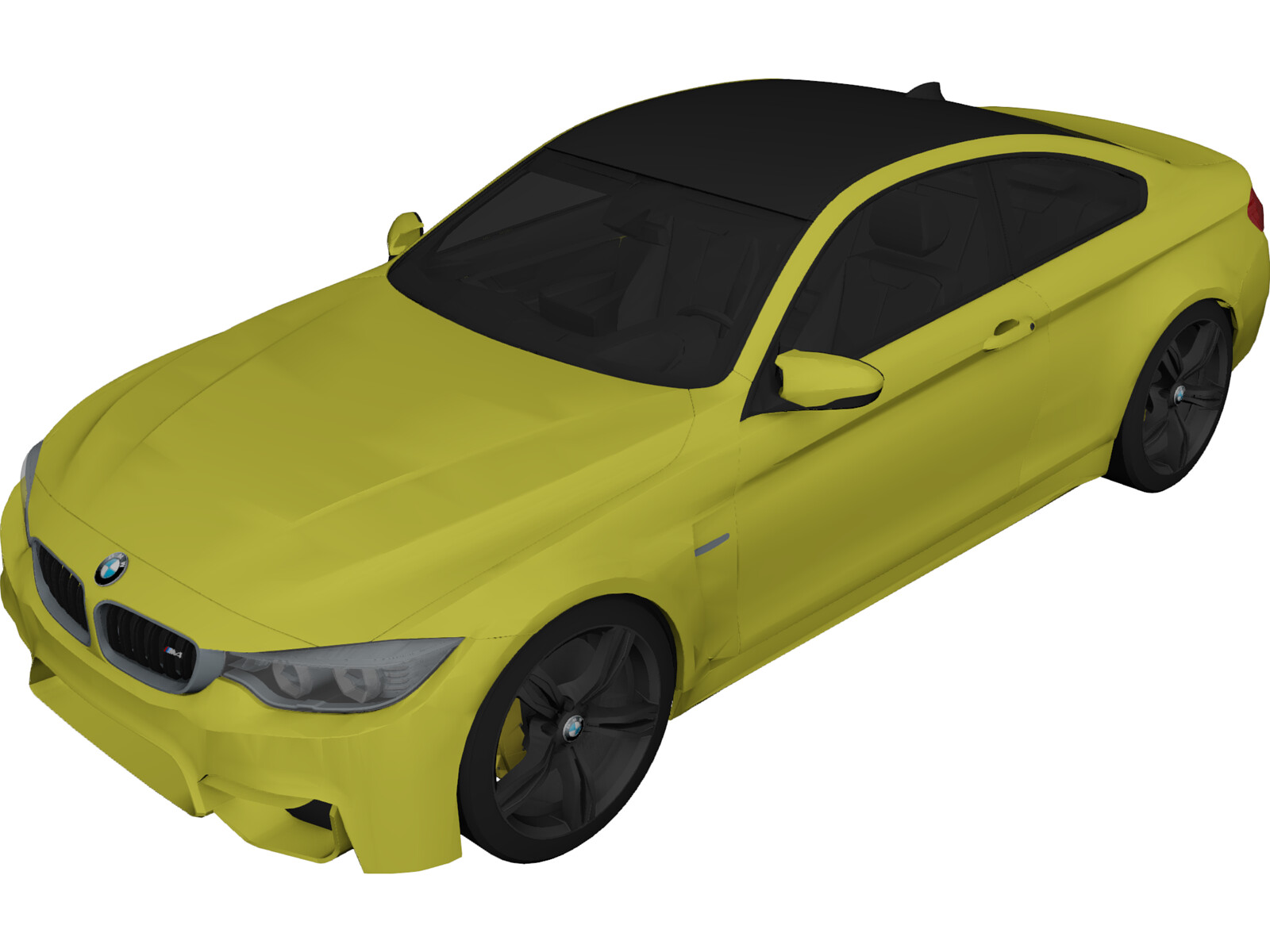 BMW M4 Coupe (2015) 3D Model