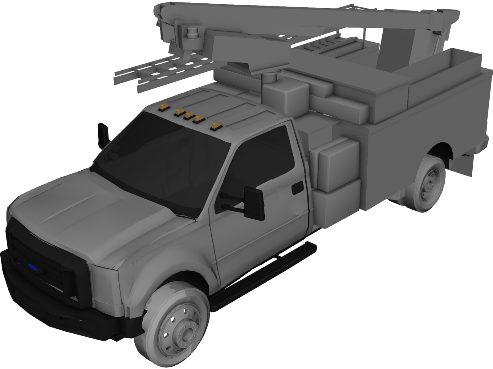 Ford F450 Ultility Truck