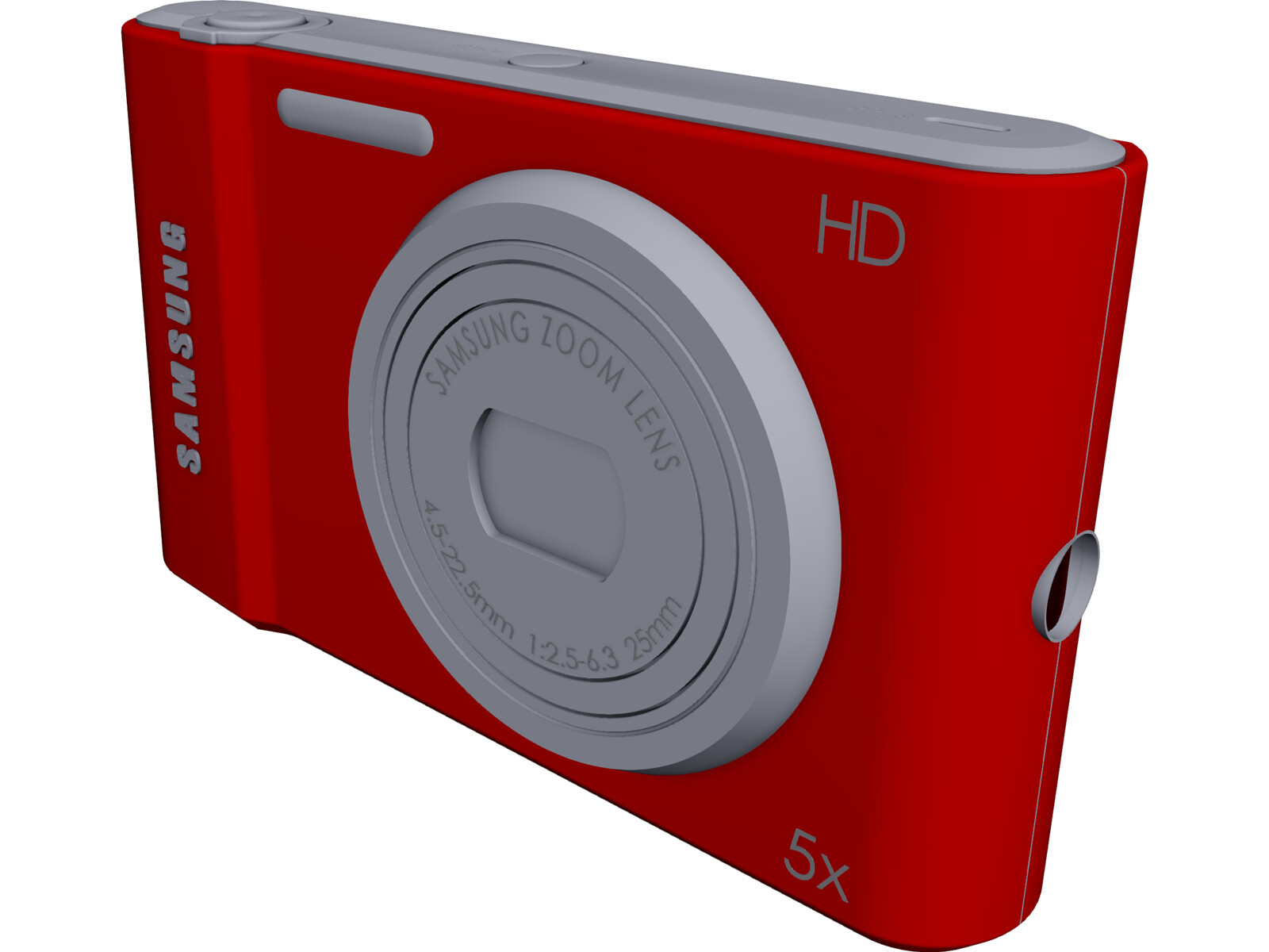 Samsung Photo Camera 3D CAD Model