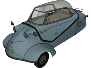 Messerschmitt KR-200 3D Model