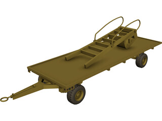 Aircraft Support 3D Model