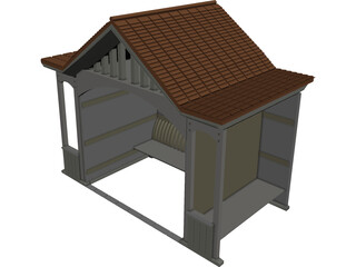 House Summer 3D Model 3D Preview