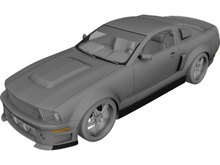 Ford Mustang Eleanor 3D Model