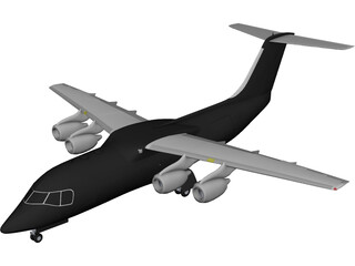British Aerospace BAe 146 3D Model