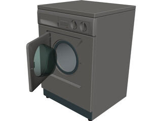 Fagor Wash Machine 3D Model