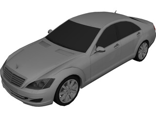 Mercedes-Benz S-Class (2006) 3D Model