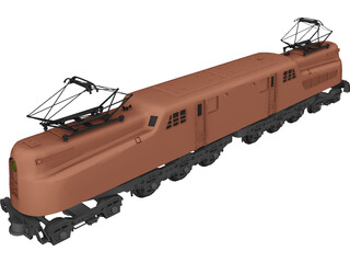 Pensylvania Railroad SGG1 3D Model