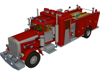 Peterbilt Firefight 3D Model