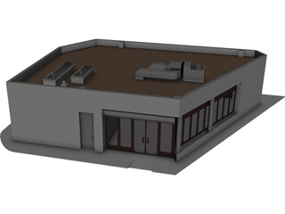 Building Auxiliar 3D Model